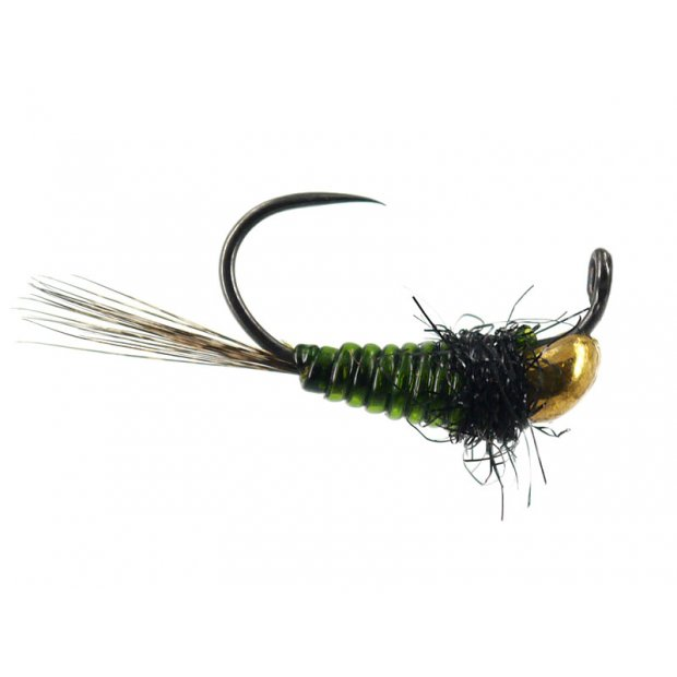 Javi TG Olive Ribbed Attractor BL