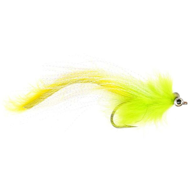 Rabbit Chartreuse Pike Streamer